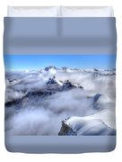 Ocean Of Clouds Duvet Cover
