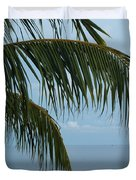 Ocean Palm Duvet Cover