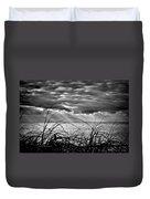 Ocean Rays Black And White Duvet Cover
