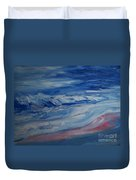 Ocean Shoreline Duvet Cover