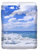 Ocean Surf Duvet Cover
