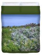 Ocean Vegetation Duvet Cover