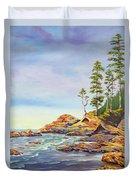 Ocean Witness Duvet Cover