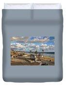 Oceanside Amphitheater Duvet Cover