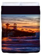 Oceanside Sunset IIi Duvet Cover