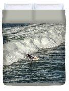 Oceanside Surfer 3 Duvet Cover
