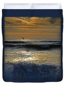 Ocracoke Morning Duvet Cover