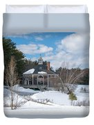 Octagon House Duvet Cover