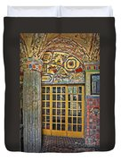 October At Fonthill Castle Duvet Cover