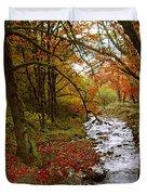 October In Oregon Duvet Cover