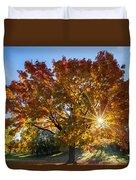 October Maple  Duvet Cover