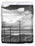 October Road Palm Springs Duvet Cover