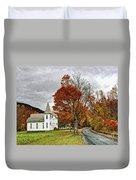 October Skies Duvet Cover