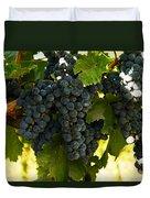 October Vintage Bonair Winery  Duvet Cover