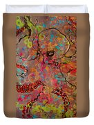 Octopus Illistration Duvet Cover