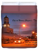 Ode To Harry Chapins Taxi Duvet Cover