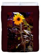 Ode To Sunflowers Duvet Cover