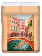 Ode To Venice Duvet Cover
