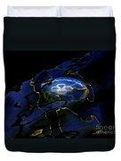 Odyssea Moon Jellyfish 1 Duvet Cover