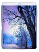 Of Dreams And Winter Duvet Cover