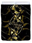 Of Golden Waves Duvet Cover