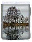Of Mirrors And Trees Duvet Cover