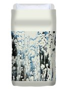 Of Snow And Clouds Duvet Cover