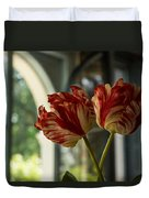 Of Tulips And Windows Duvet Cover