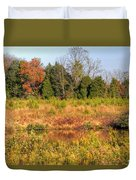 Off Knight's Road Duvet Cover
