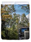 Off Road Trucker Duvet Cover