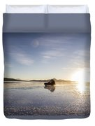 Off Road Uyuni Salt Flat Tour Duvet Cover