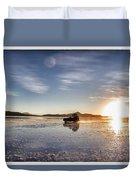 Off Road Uyuni Salt Flat Tour Select Focus Duvet Cover