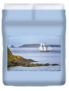 Off Saint-malo Duvet Cover