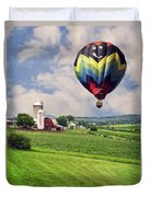 Off To The Land Of Oz Duvet Cover