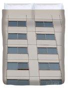 Office Building Windows Duvet Cover