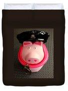 Officer Bacon Wants A Doughnut Duvet Cover