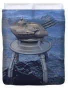 Offshore Turret Duvet Cover