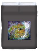 Offspring Of Tiamat - The Fomorii Union Duvet Cover by Otto Rapp