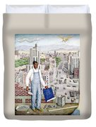 Ogorman: City Of Mexico Duvet Cover