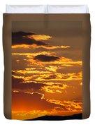 Ograzhden Mountain Sunset Duvet Cover