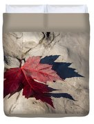 Oh Canada Maple Leaf Duvet Cover