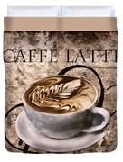 Oh My Latte Duvet Cover by Lourry Legarde
