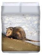 Oh Possum Duvet Cover