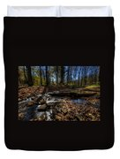 Ohio Fall Beauty Scene Duvet Cover