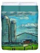 Ohio Farm Duvet Cover