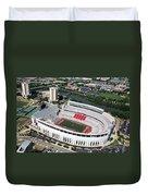 Ohio Stadium Duvet Cover