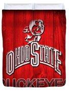 Ohio State Buckeyes Barn Door Vignette Duvet Cover