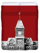 Ohio State University - Dark Red Duvet Cover