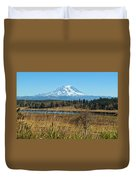 Ohop Valley Of Layers Duvet Cover