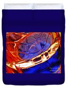 Oil And Water 15 Duvet Cover by Sarah Loft